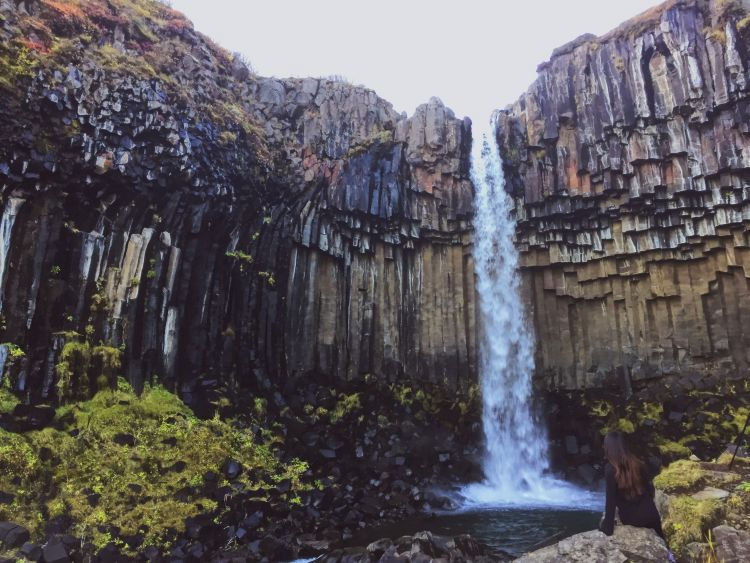 Photo: Svartifoss - Travel to Iceland
