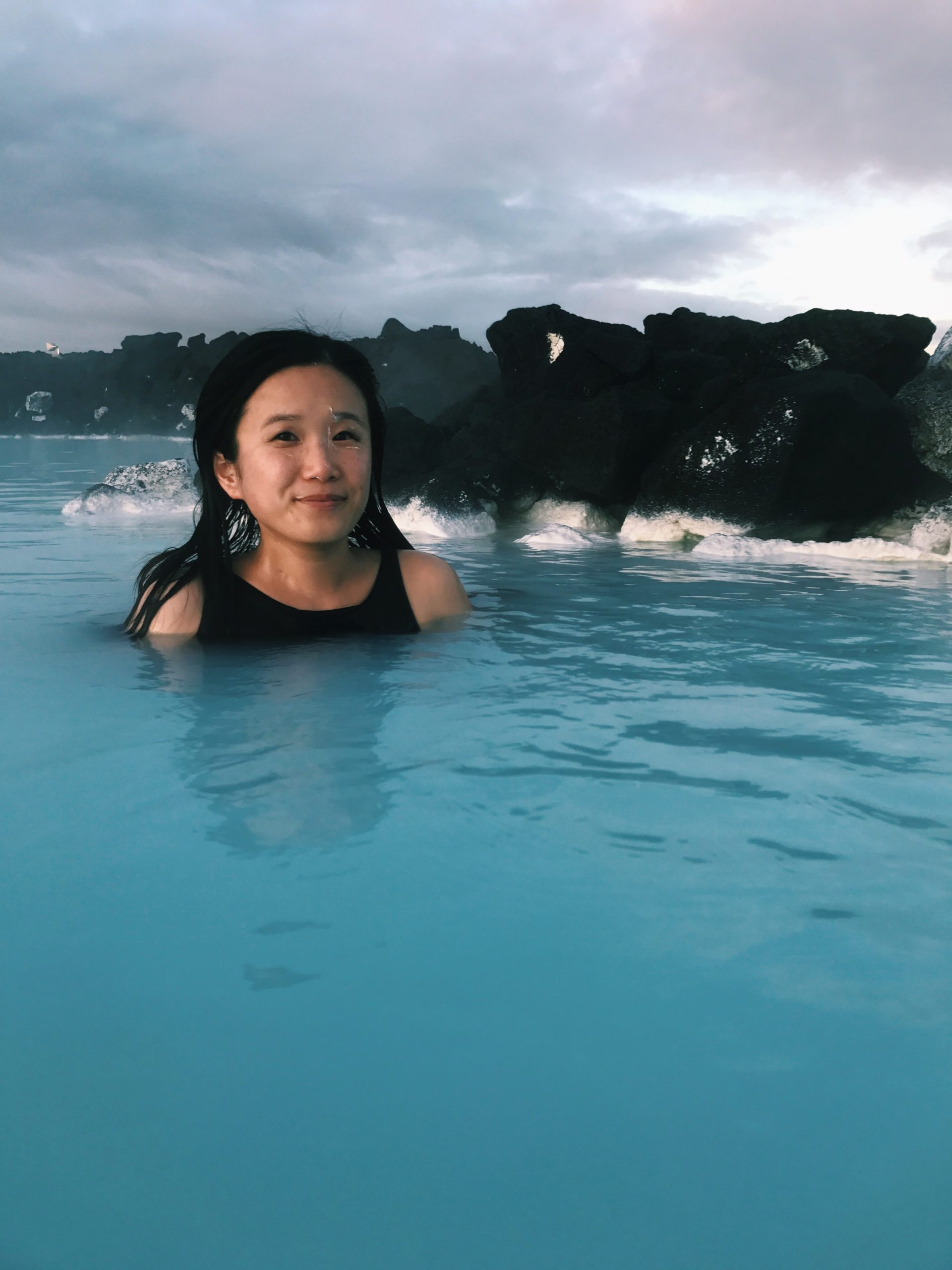 Photo: Relaxing at Blue Lagoon  - Travel to Iceland